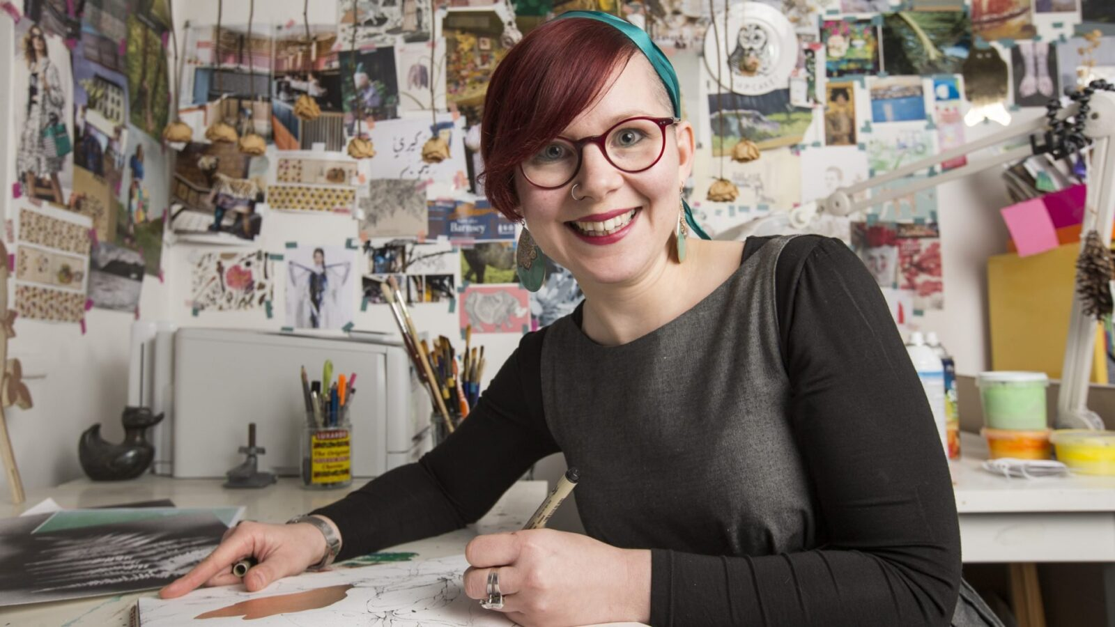 Kerry Lemon - Artistic inspiration from the artist du jour