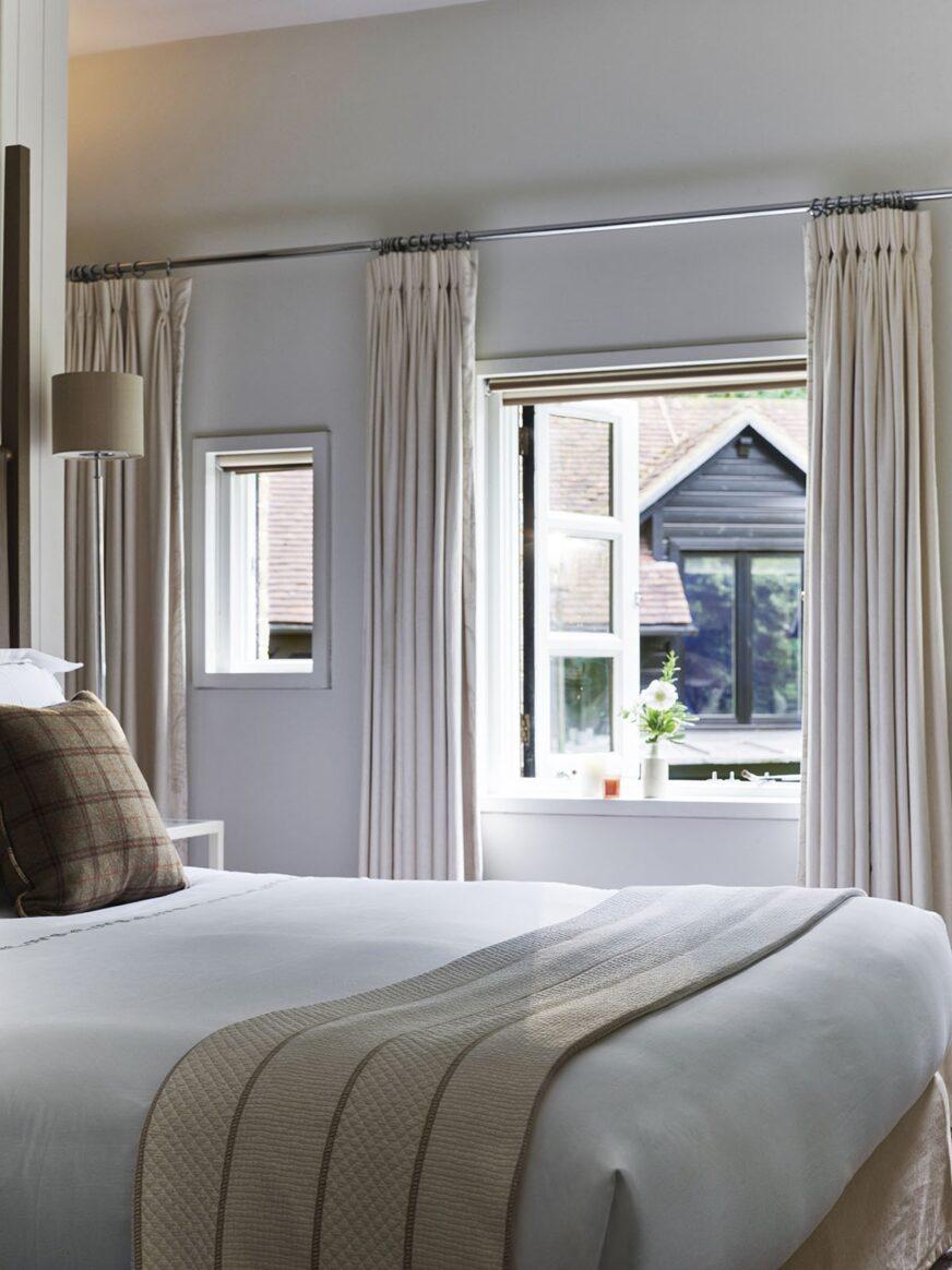 Sleep peacefully in modern luxury