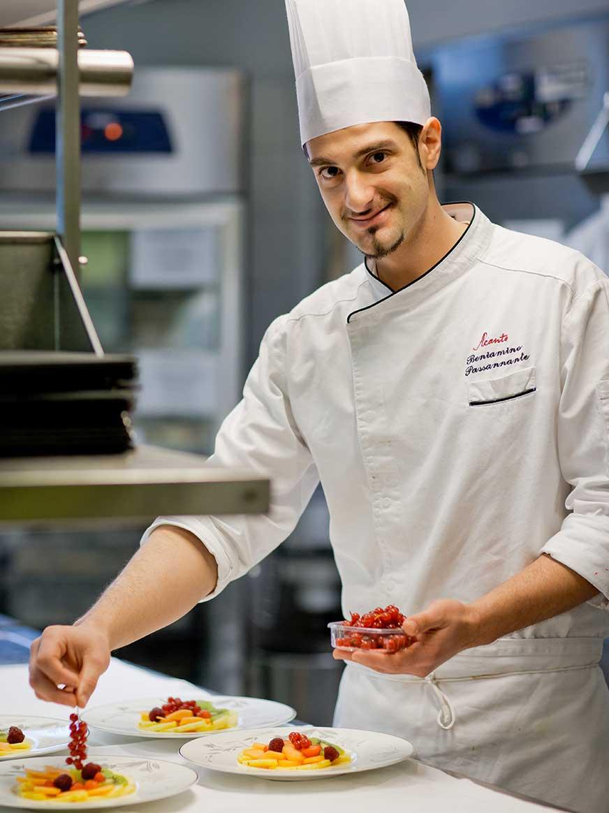 Pastry Chef Beniamino Passannante