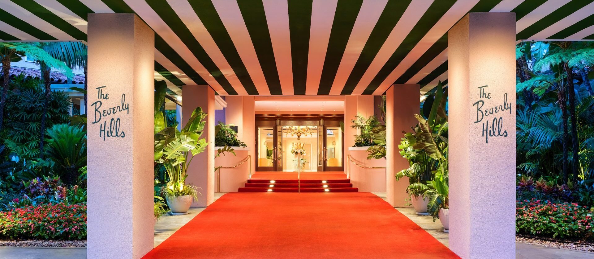 The beverly hills hotel 5 star luxury hotel dorchester collection for Garden suite hotel los angeles
