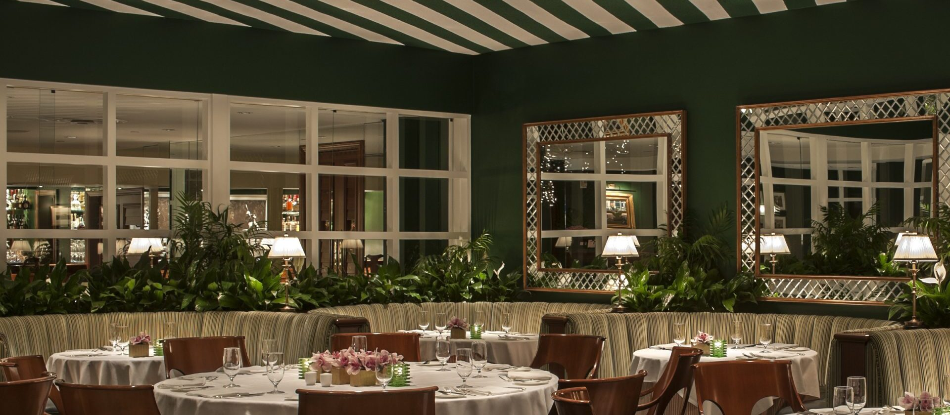 The Polo Lounge - The Beverly Hills Hotel   Dorchester Collection b46a7a1105b3