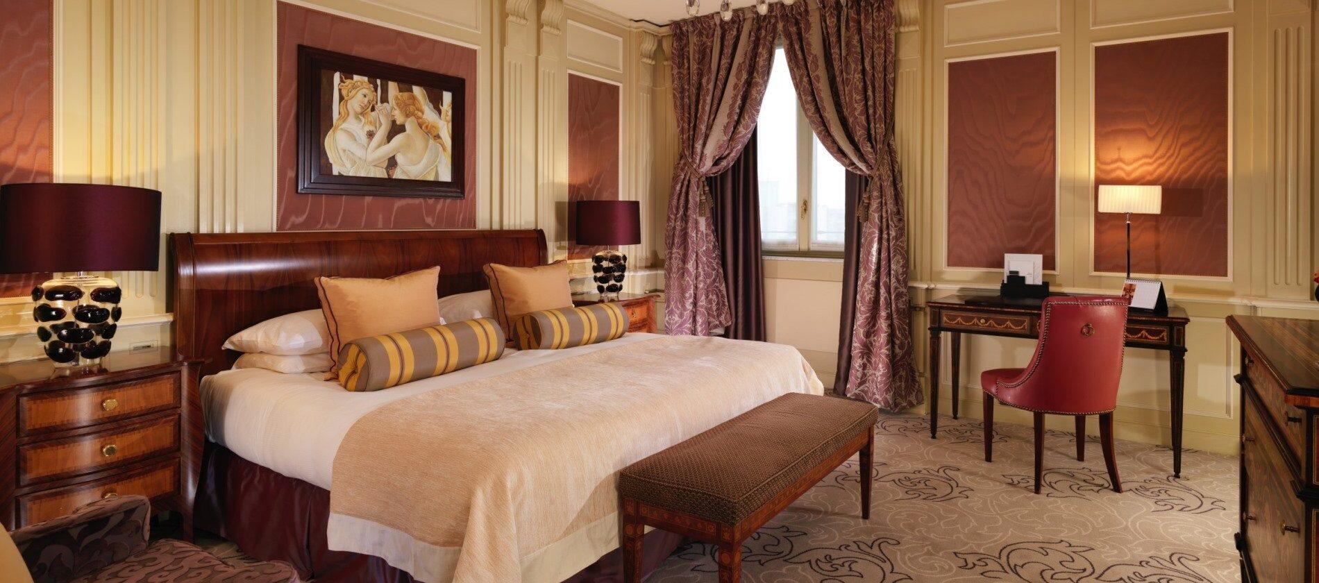 Hotel Principe di Savoia, Deluxe Room
