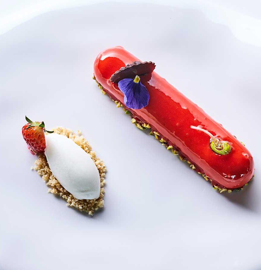 Dessert at Hotel Principe di Savoia