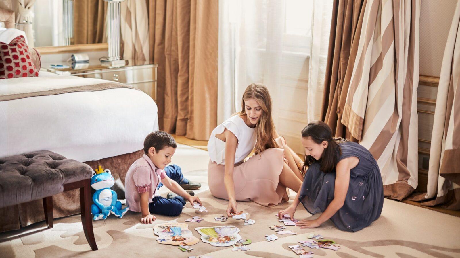 Kids at Hotel Principe di Savoia, Imperial Suite