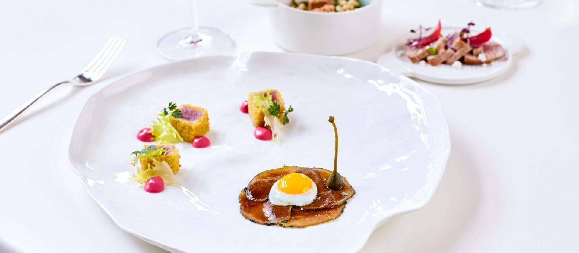 Hotel Principe di Savoia Milano, Acanto restaurant a la carte menu
