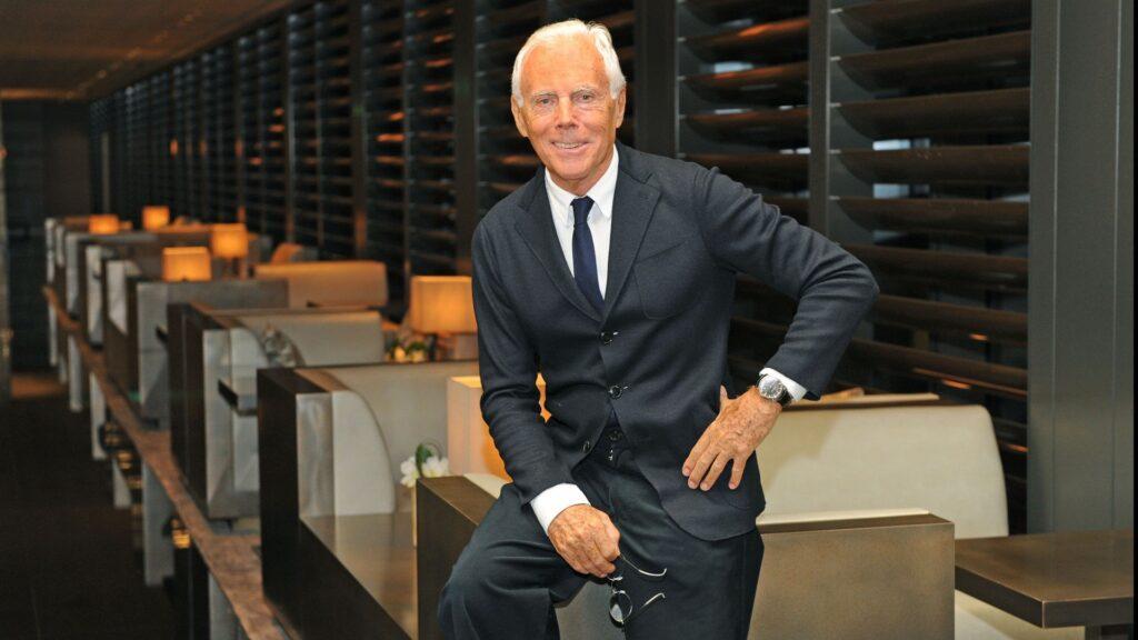 Hotel Principe di Savoia, Milan Fashion Week, Giorgio Armani portrait, ph credits @Andrea Delbo