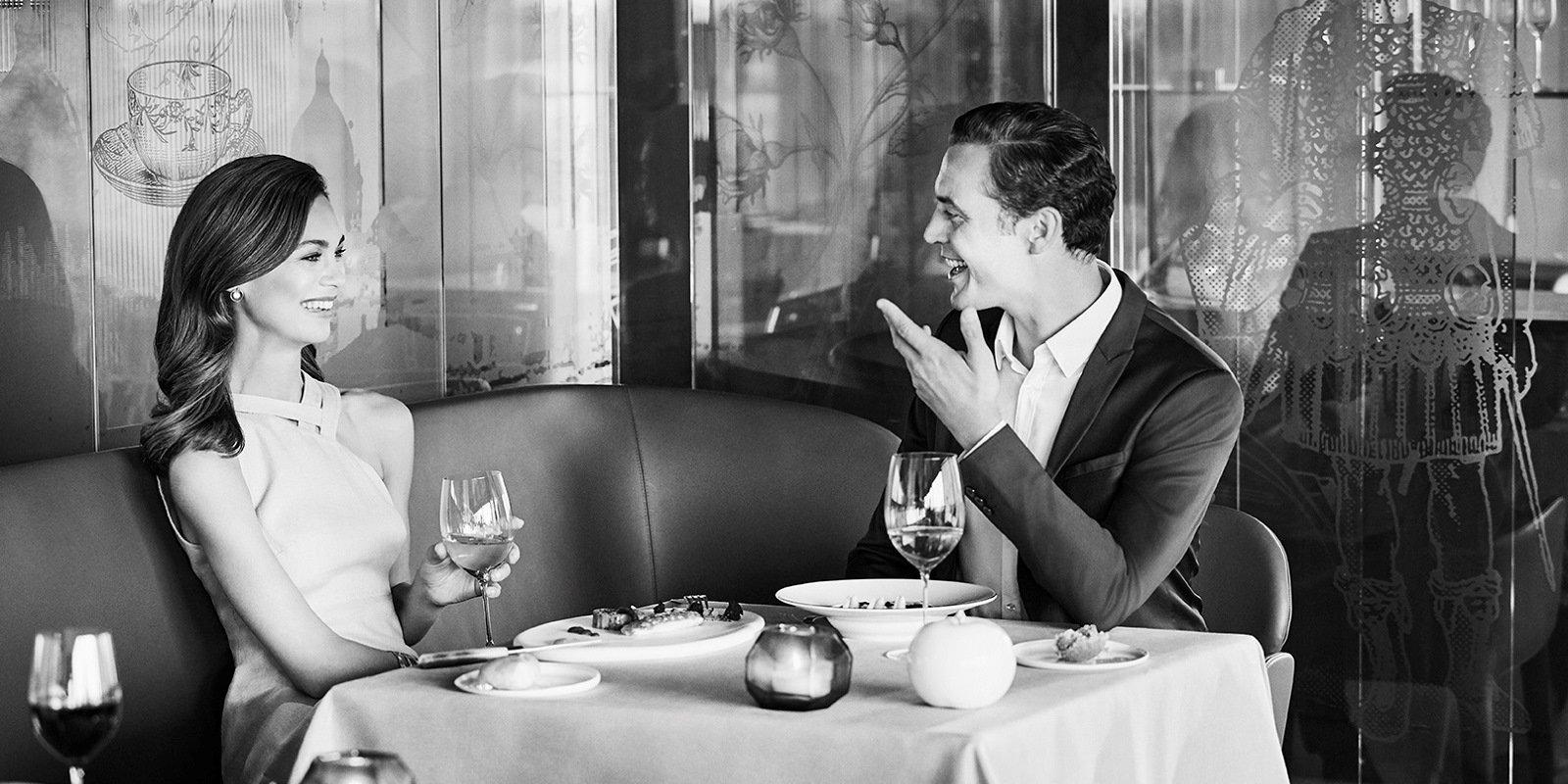Hotel Eden Couple Dinner