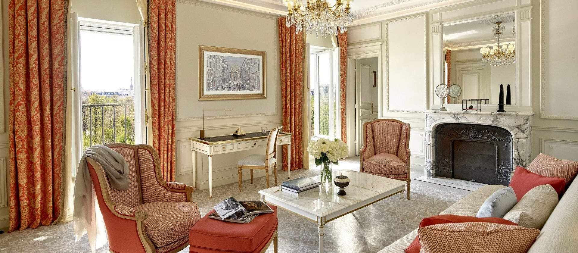 Executive Suite, Jardin des Tuileries view - Le Meurice | Dorchester ...