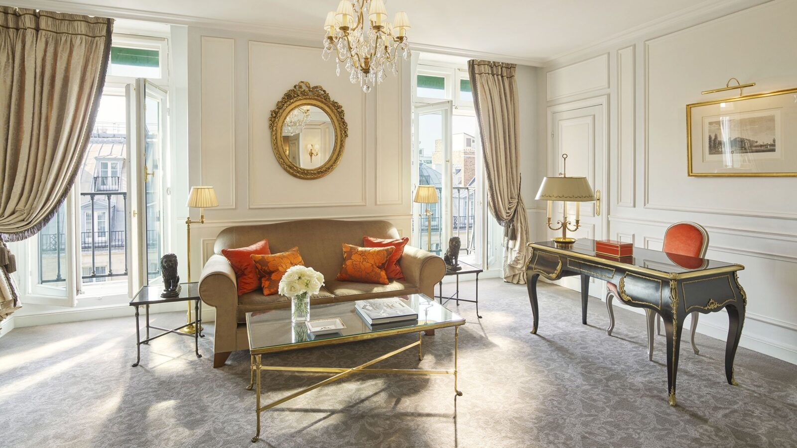 Superior Suite at Le Meurice, Paris