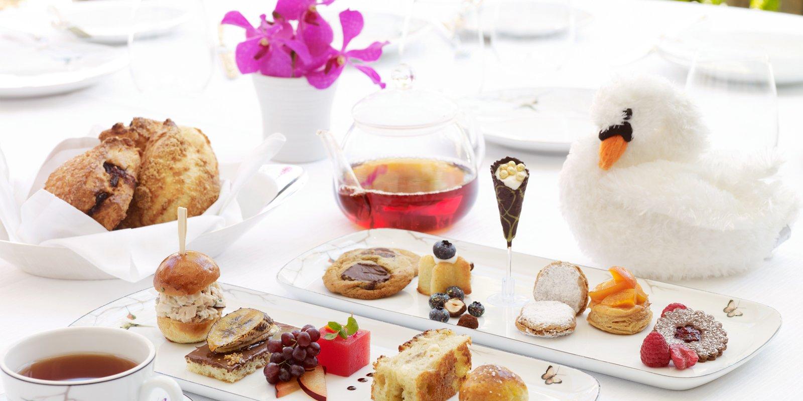 Special Little Royals Tea menu