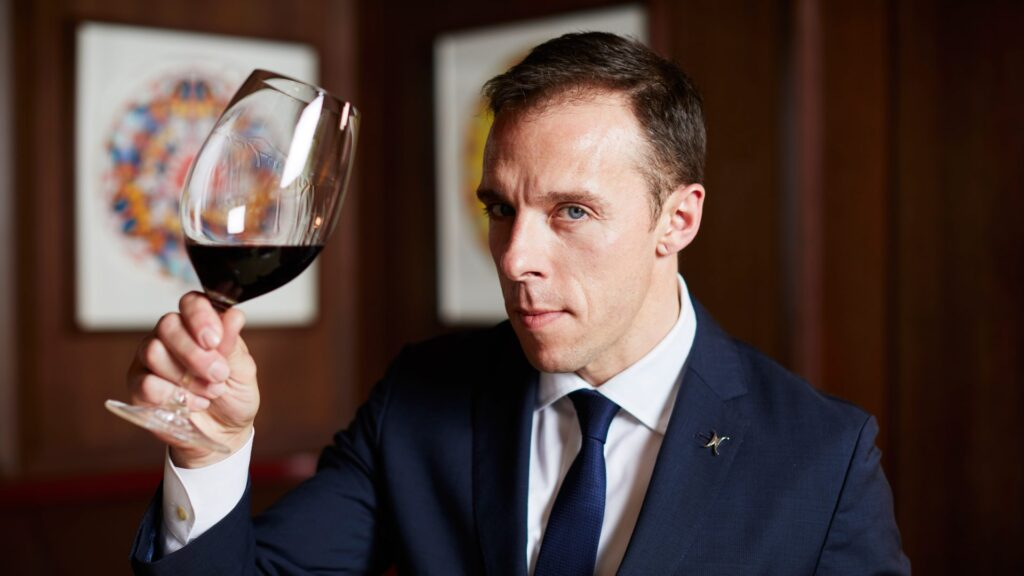 The Frenchman with a passion for American wines