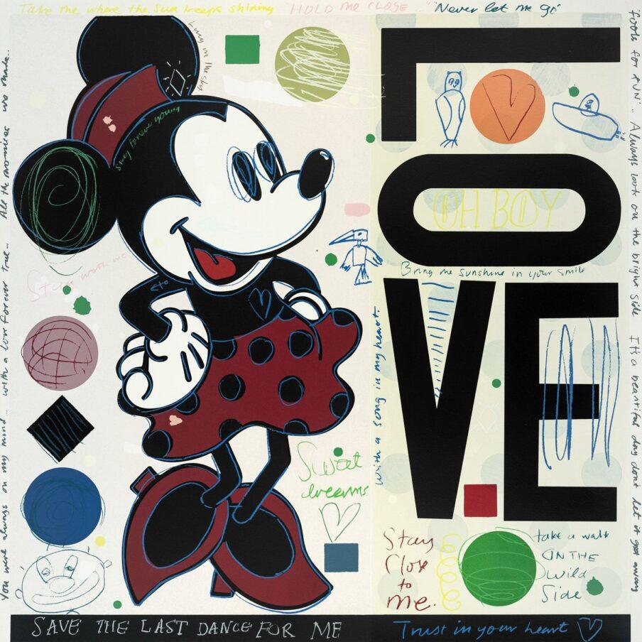 London 45 Park Lane David Spiller Love (minnie)