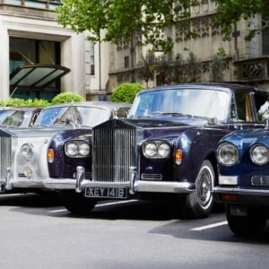 Classic cars at The Dorchester