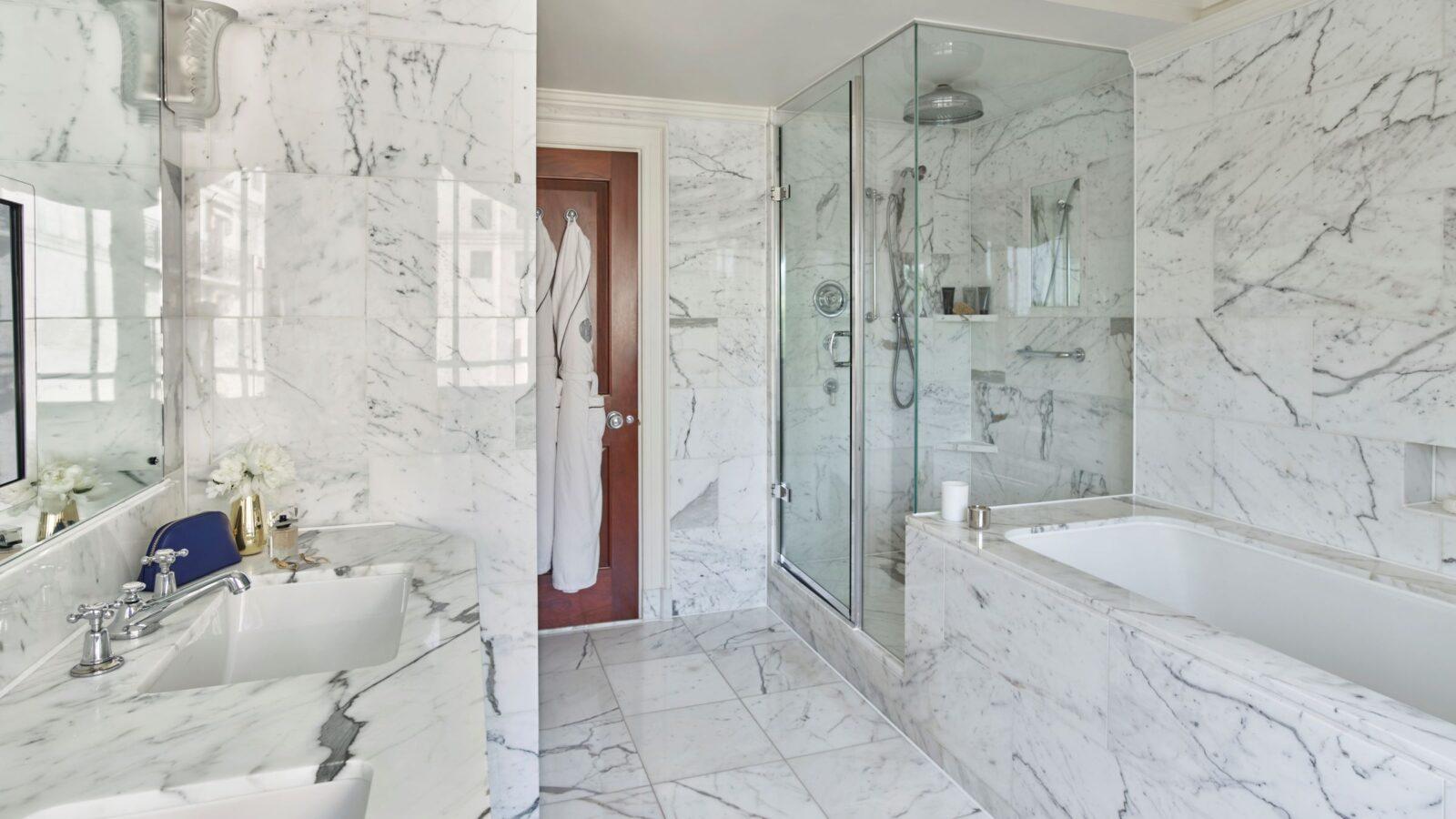 Bathrooms of uncommon delight