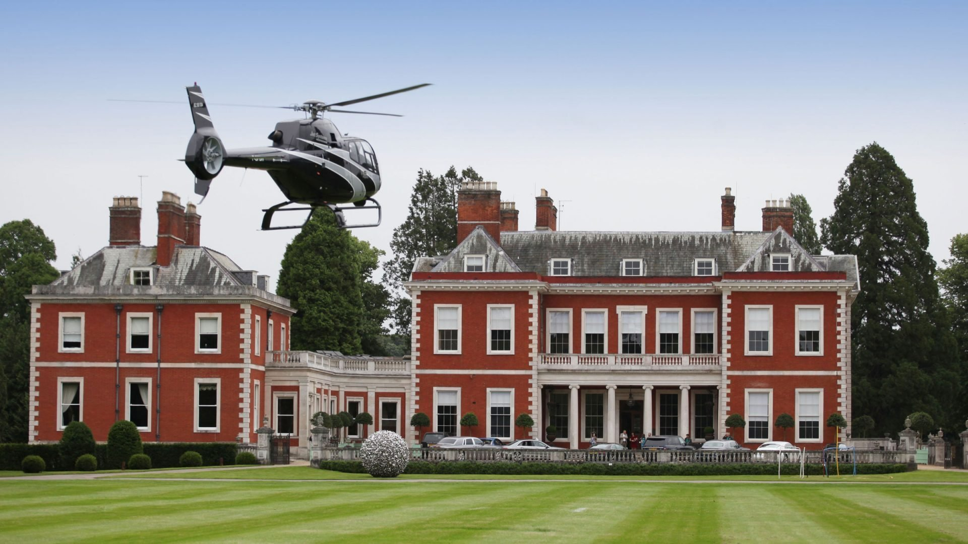 The Dorchester - Henley Royal Regatta Fawley Court Helicopter Landing