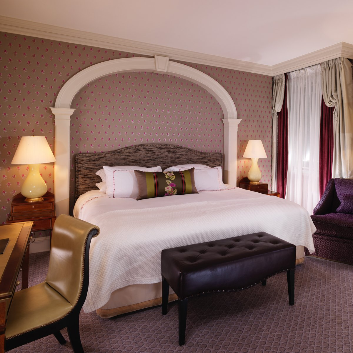 Superior King Room at The Dorchester | Dorchester Collection