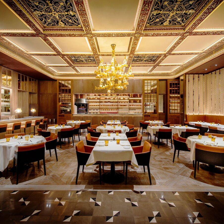 Celebrity chef restaurants london hotels