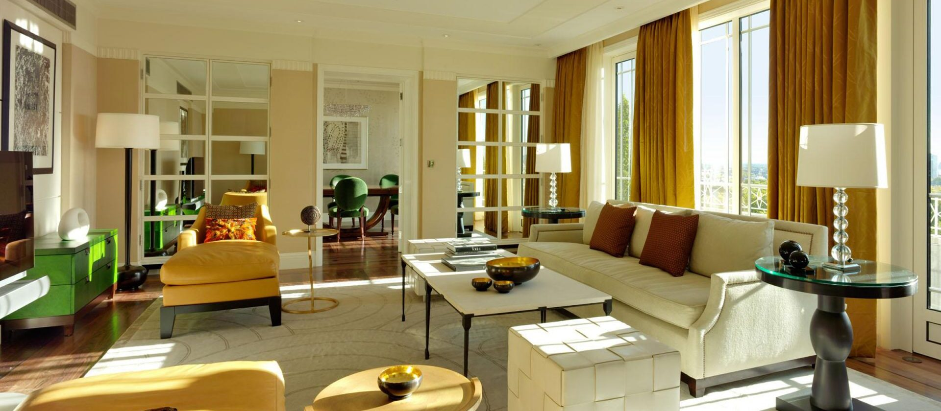 The harlequin penthouse the dorchester dorchester - London hotel suites with 2 bedrooms ...