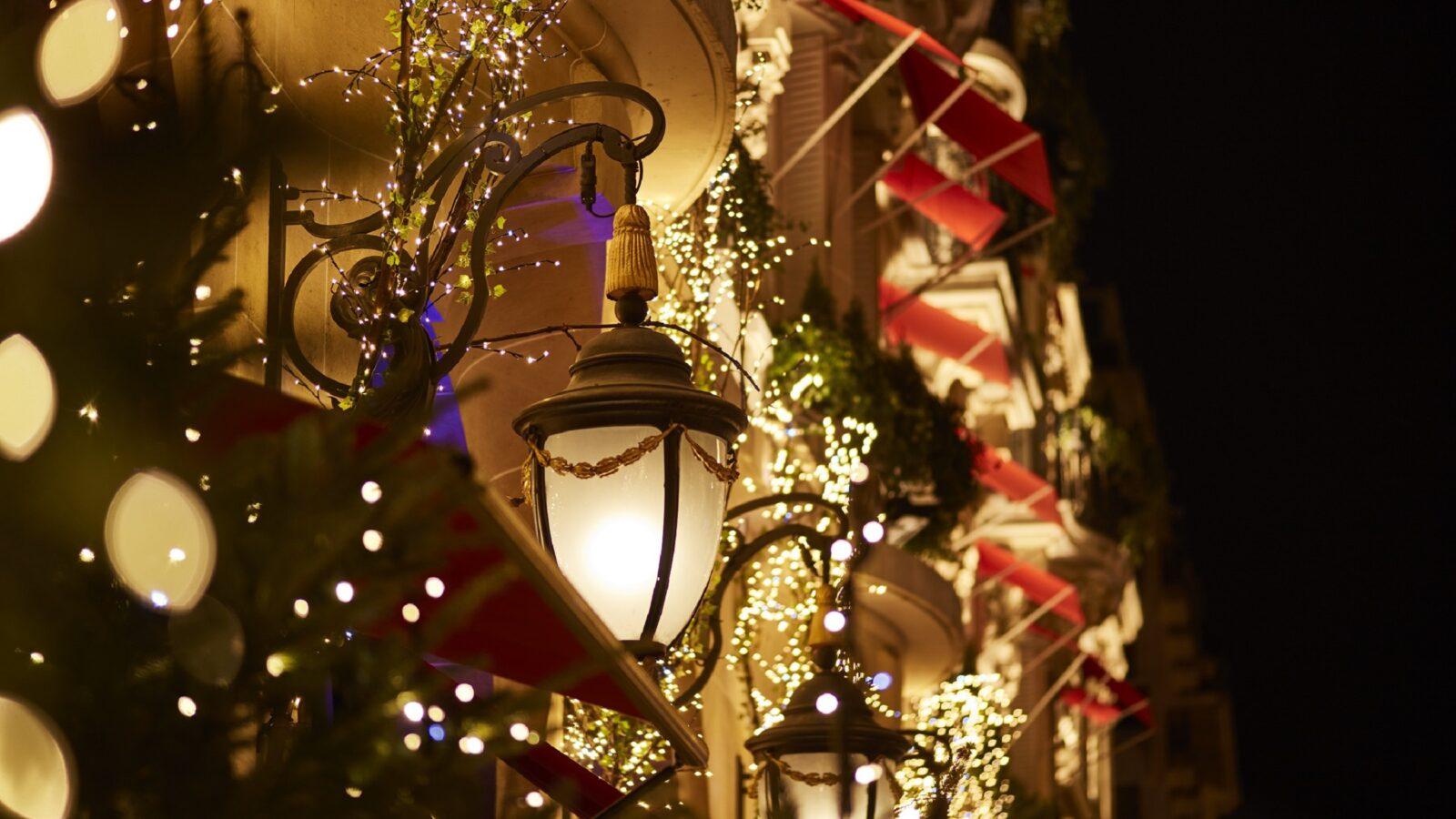 Festive Season at Hôtel Plaza Athénée, Paris