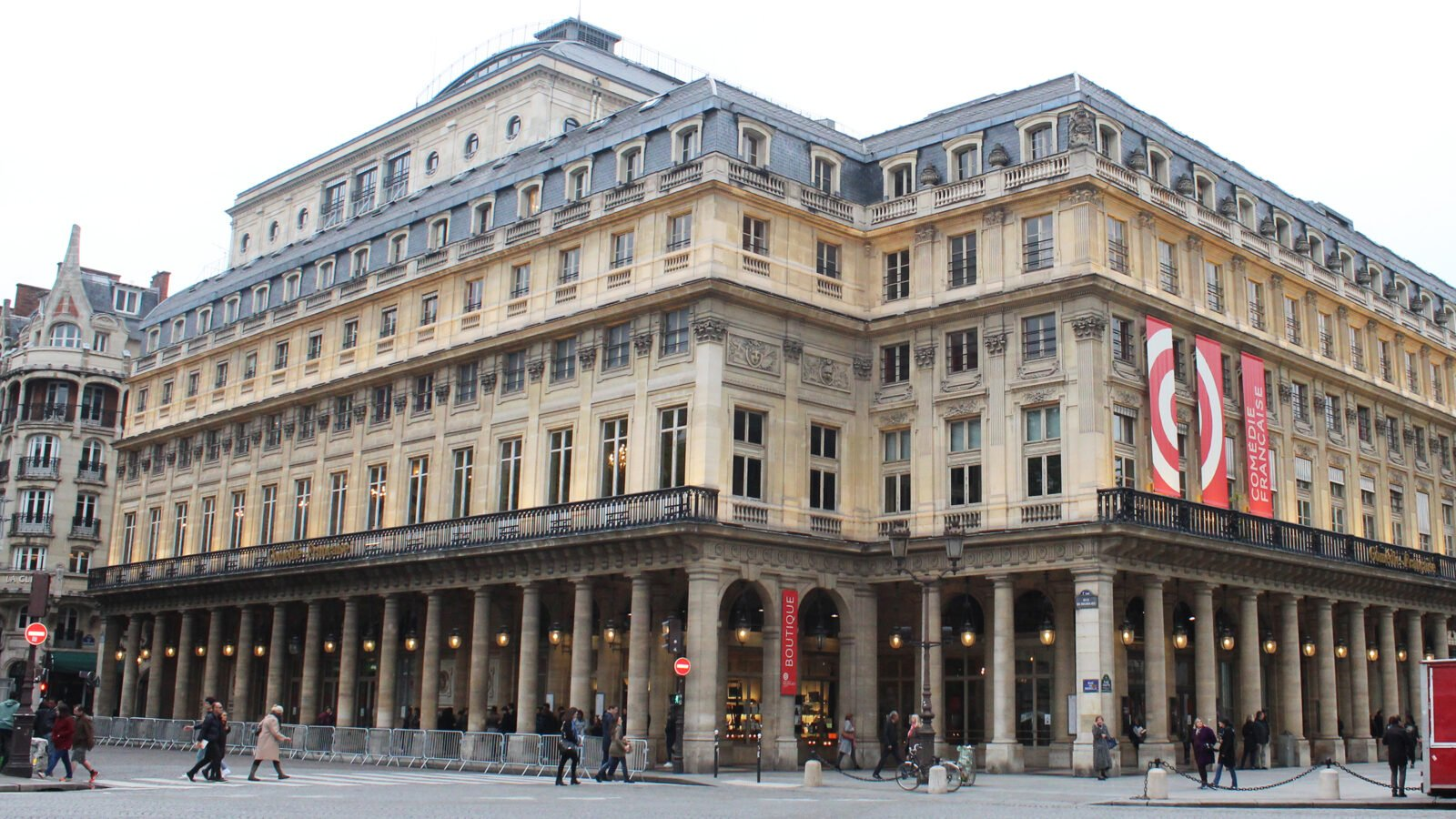 This is the Comedie Française, the most famous theatre in Paris