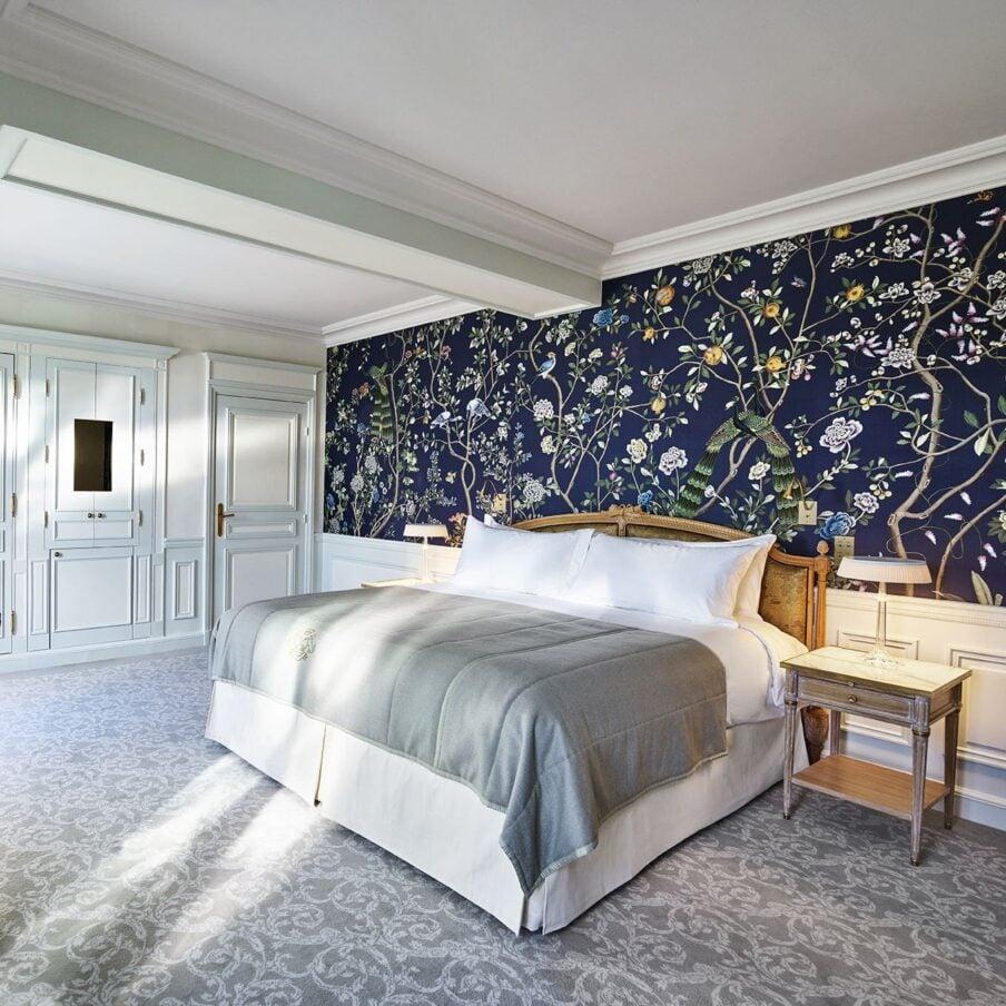 Chambre Exécutive, vue jardin des Tuileries avec balcon