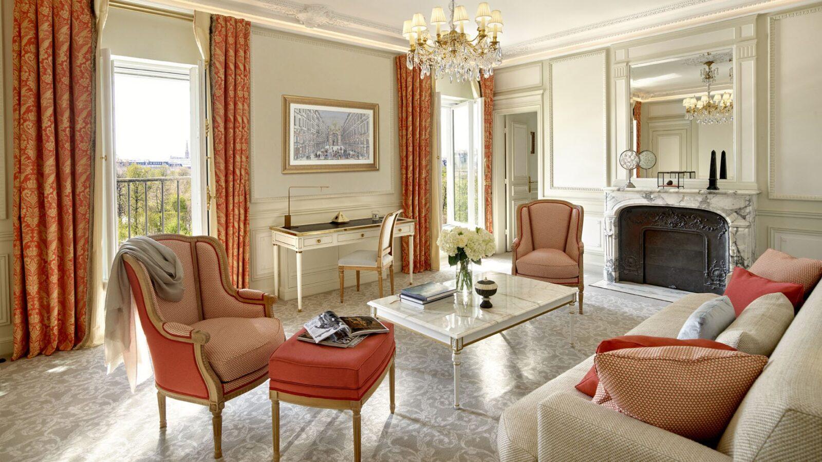 Paris - Le Meurice - Executive Suite, Park View