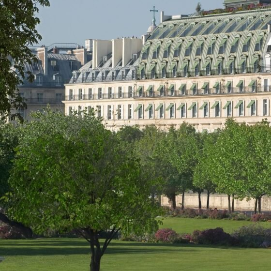 Exterior view of Le Meurice Hotel