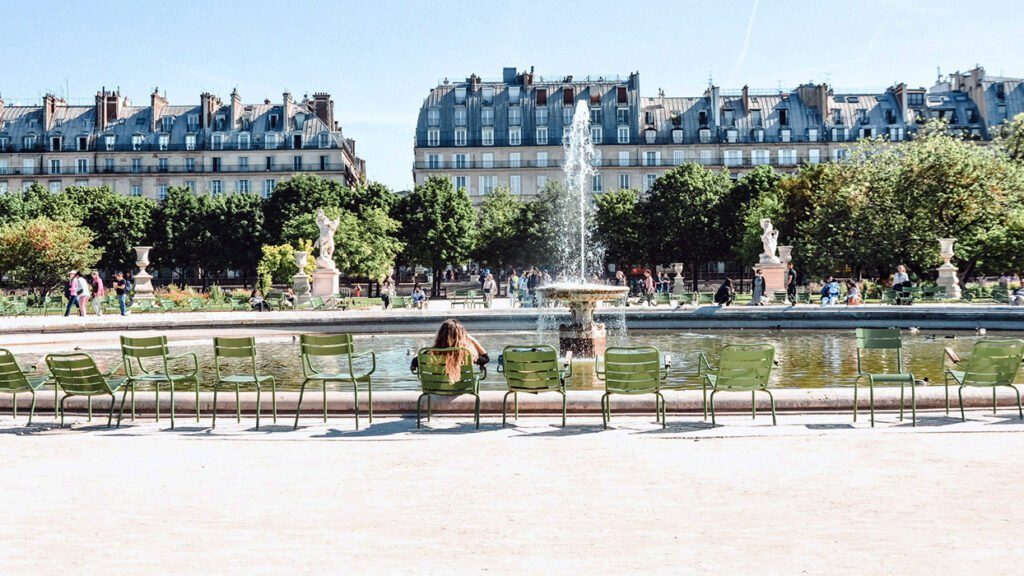 The beauty of the Tuileries Garden