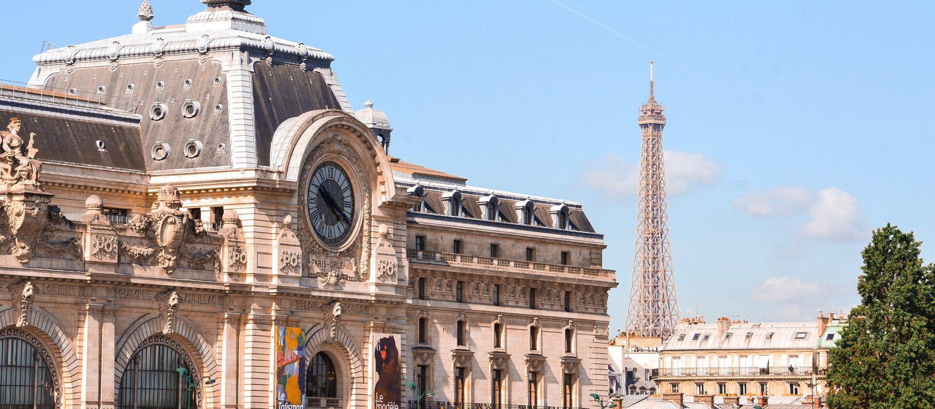 Exterior of Musée d'Orsay in Paris
