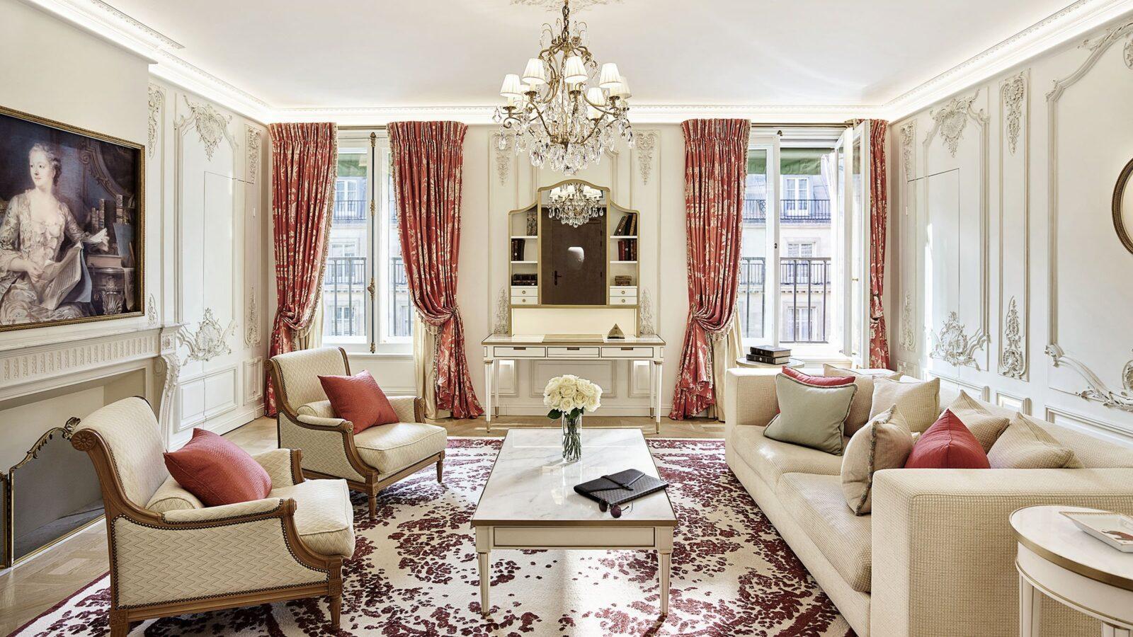 Suite Pompadour - Le Meurice, Paris