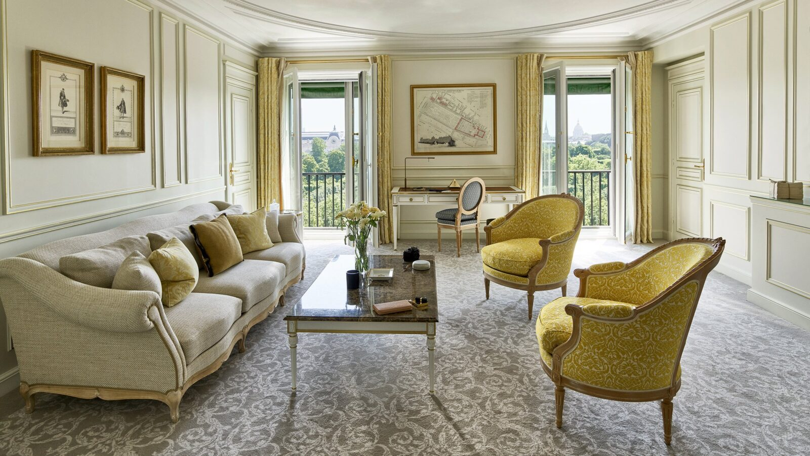 Suite Prestige at Le Meurice, Paris
