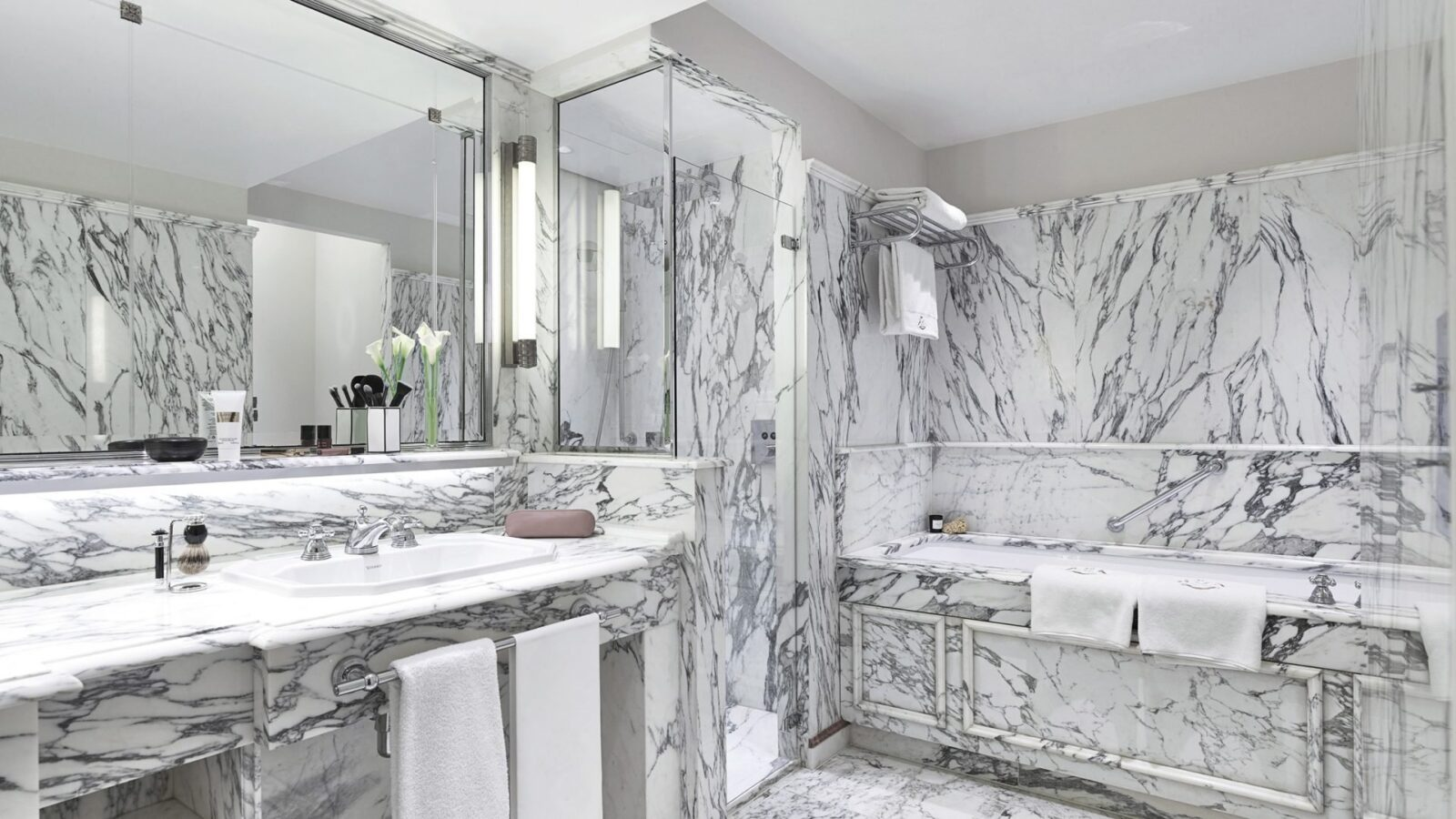 Surround yourself with marble