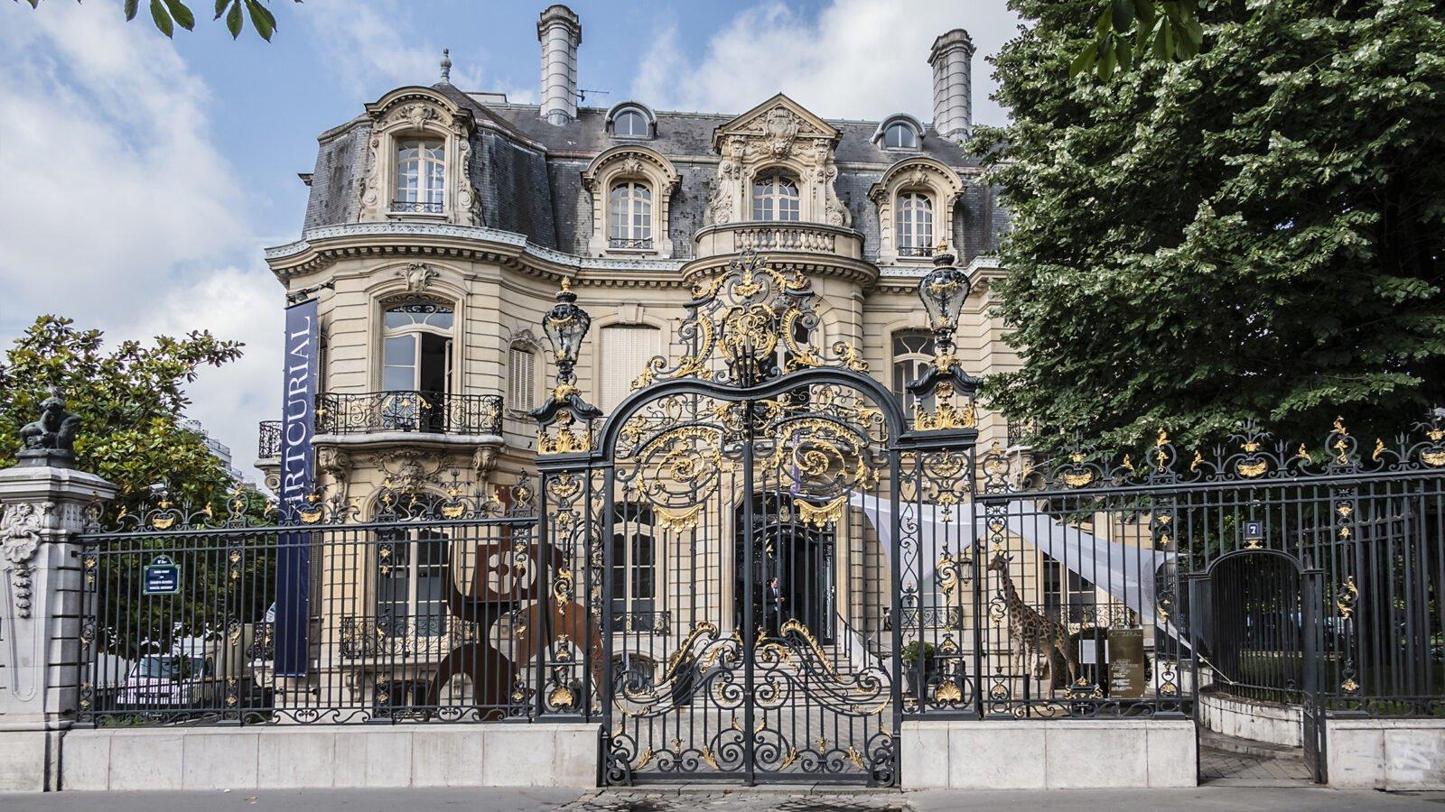 this image shows artcurial in paris, an auction house