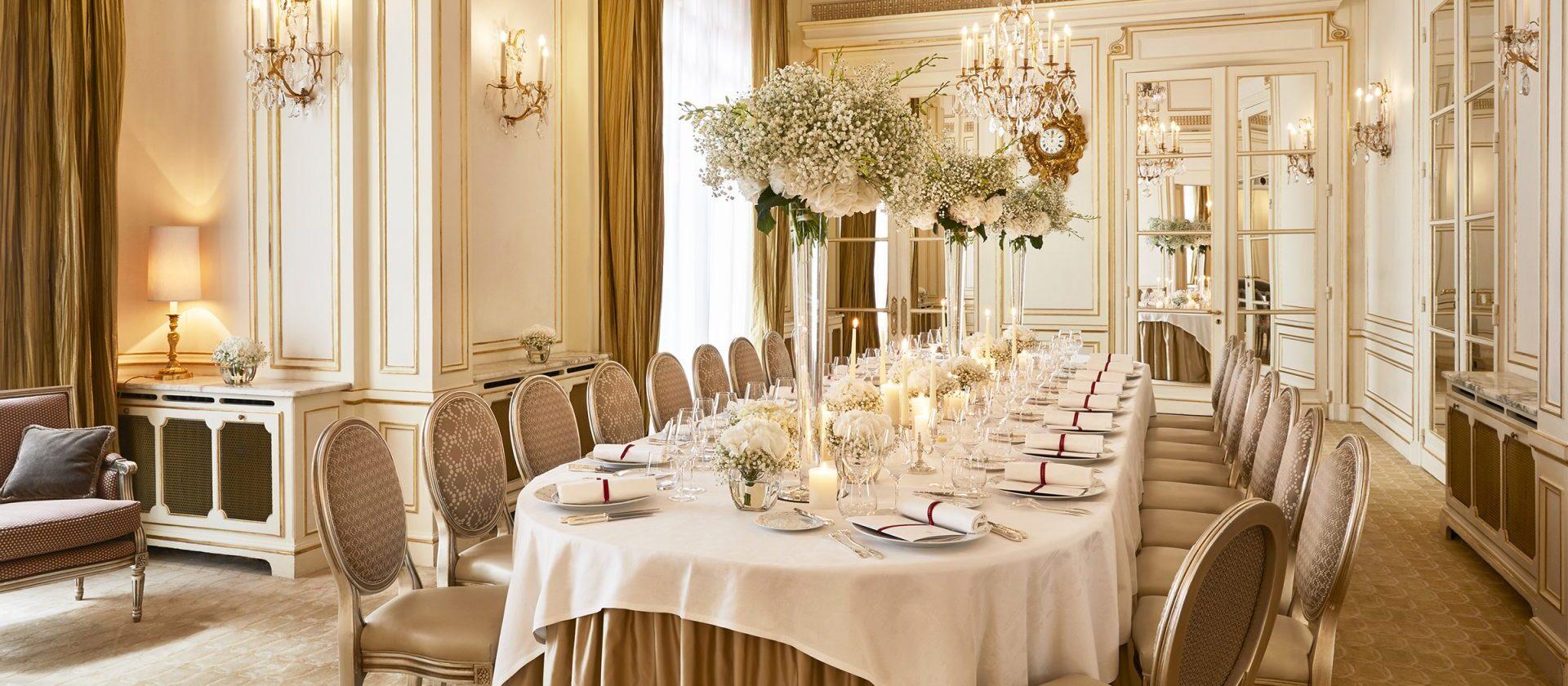 Lieu De Reception De Mariage Paris Dorchester Collection