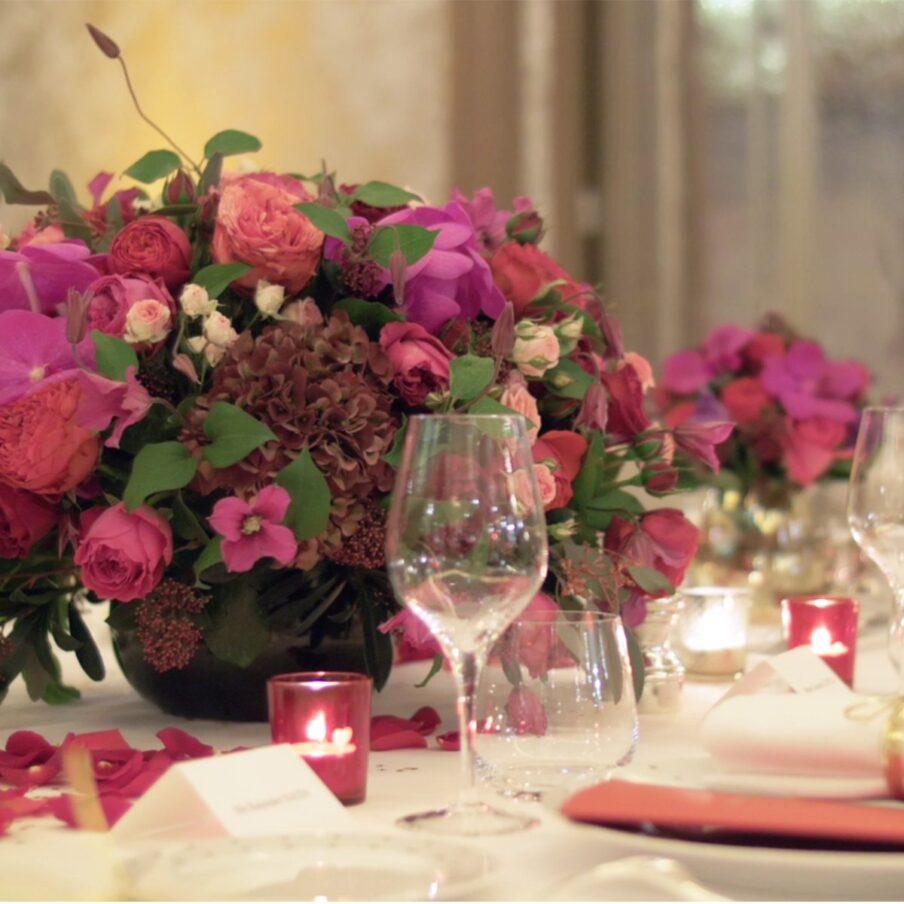 Les fleuristes de l'Hôtel Plaza Athénée
