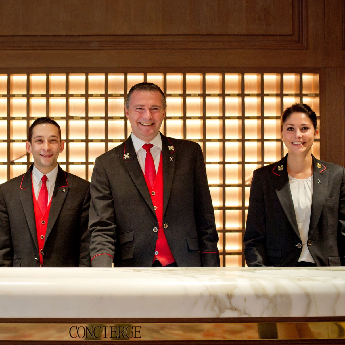 Our concierge team