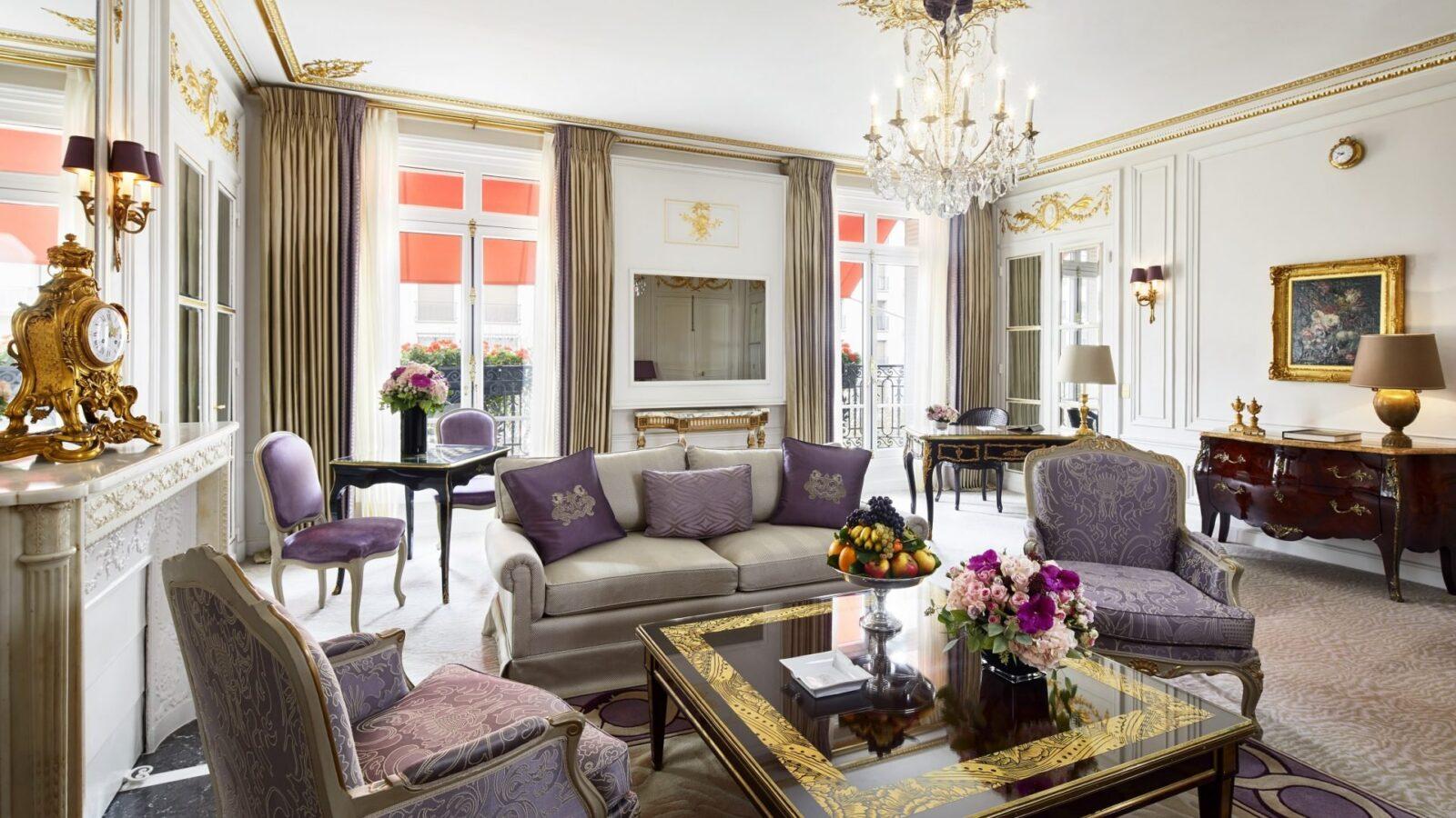 Suite Prestige - Hôtel Plaza Athénée