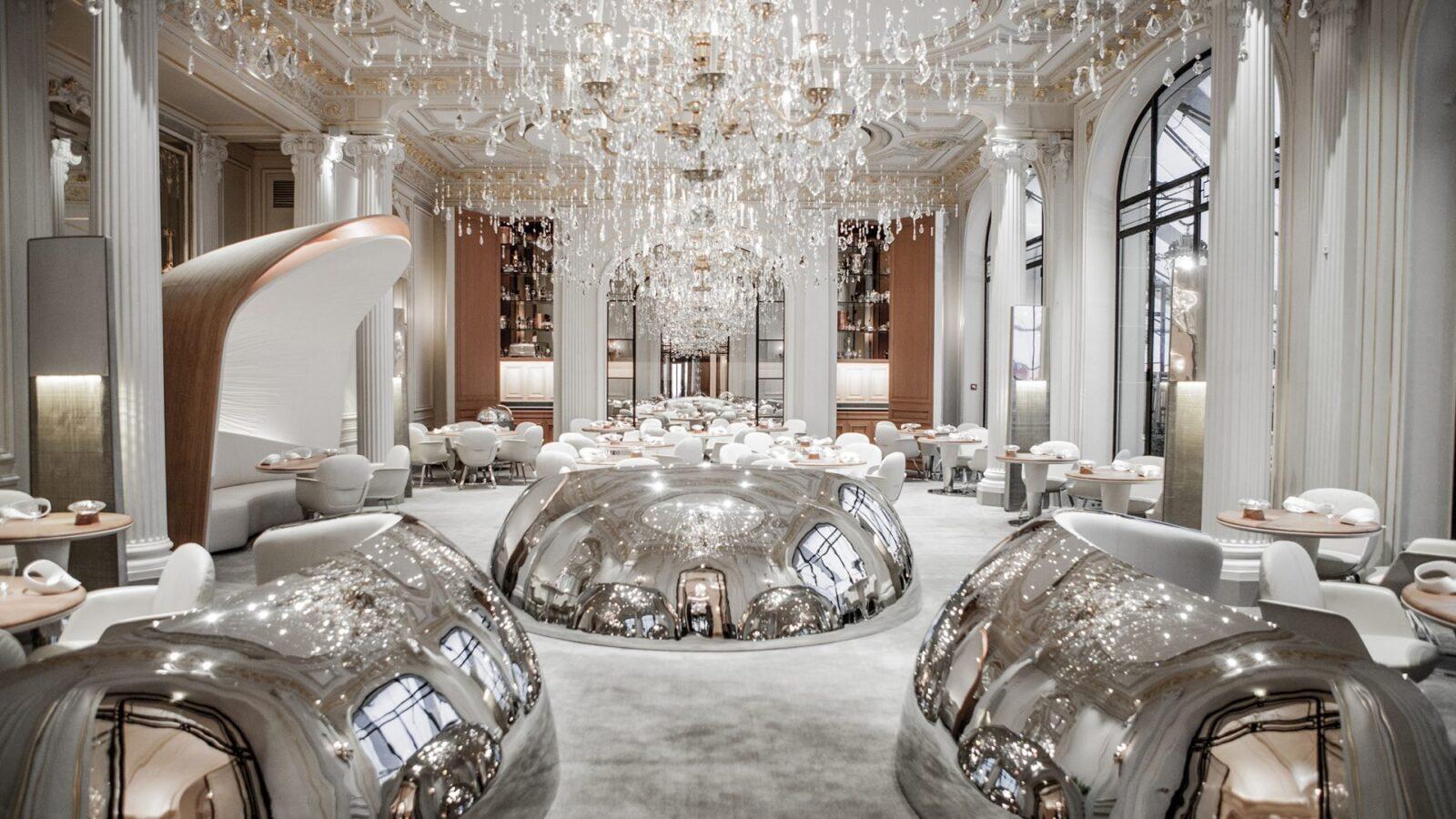 Prestige suite at Hôtel Plaza Athénée, Paris