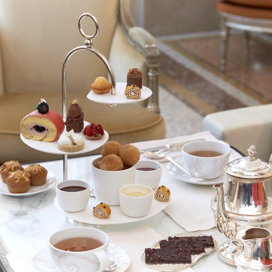 Afternoon tea at Hôtel Plaza Athénée