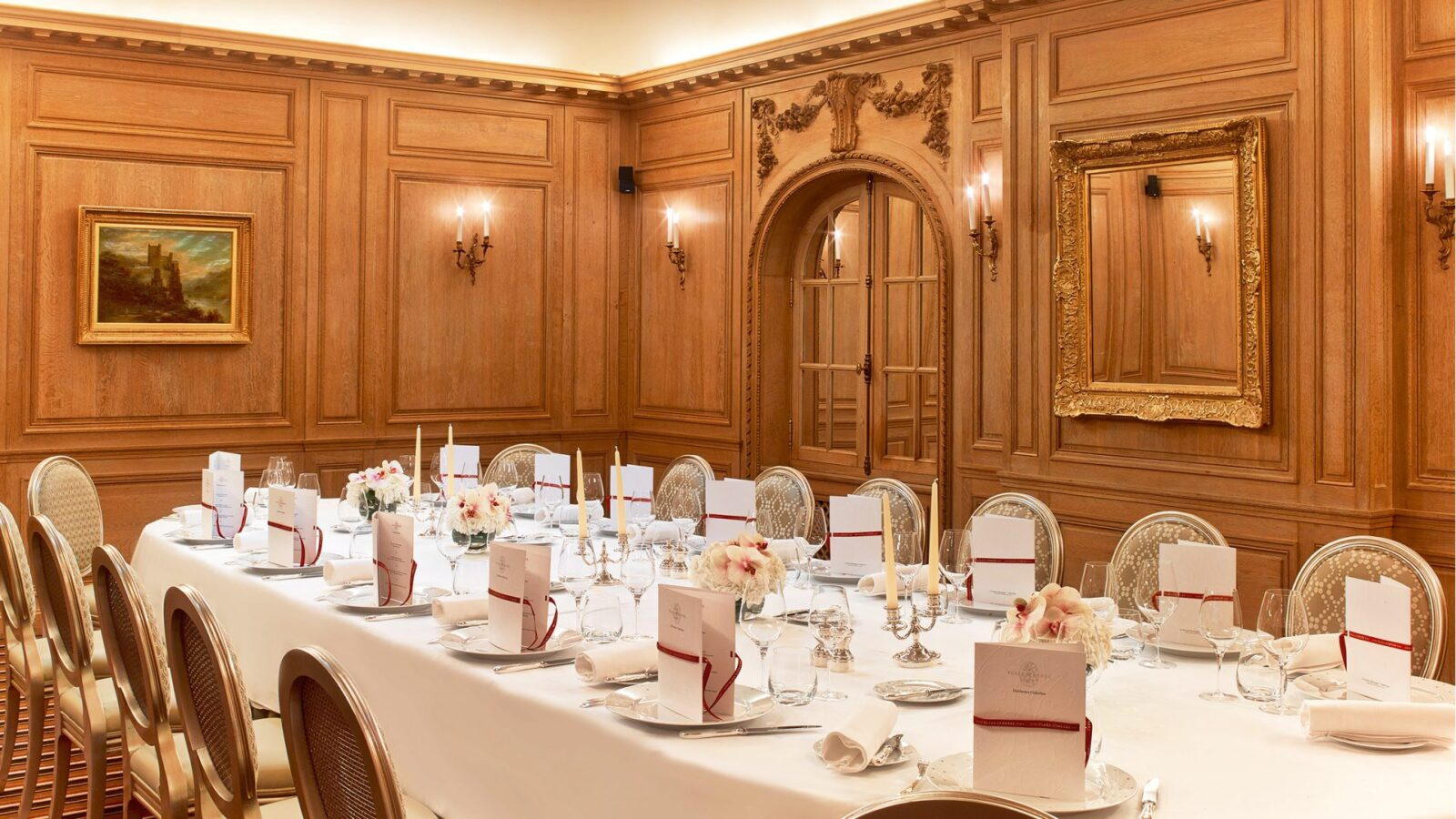 Meetings events dorchester collection - Salon prestige organza ...
