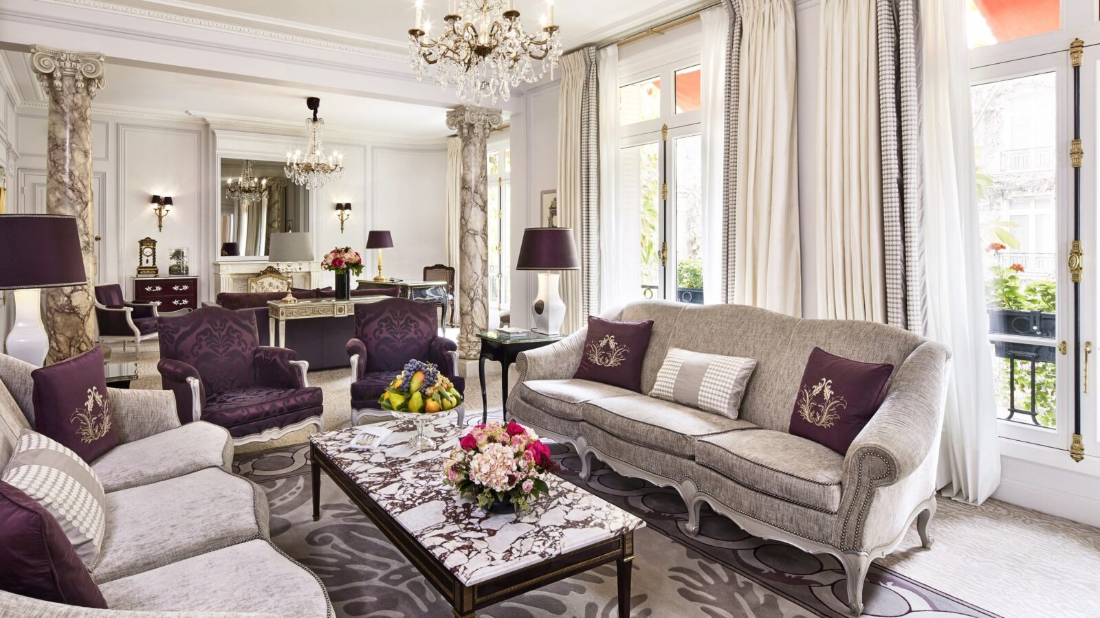 Presidential Suite at Hôtel Plaza Athénée, Paris