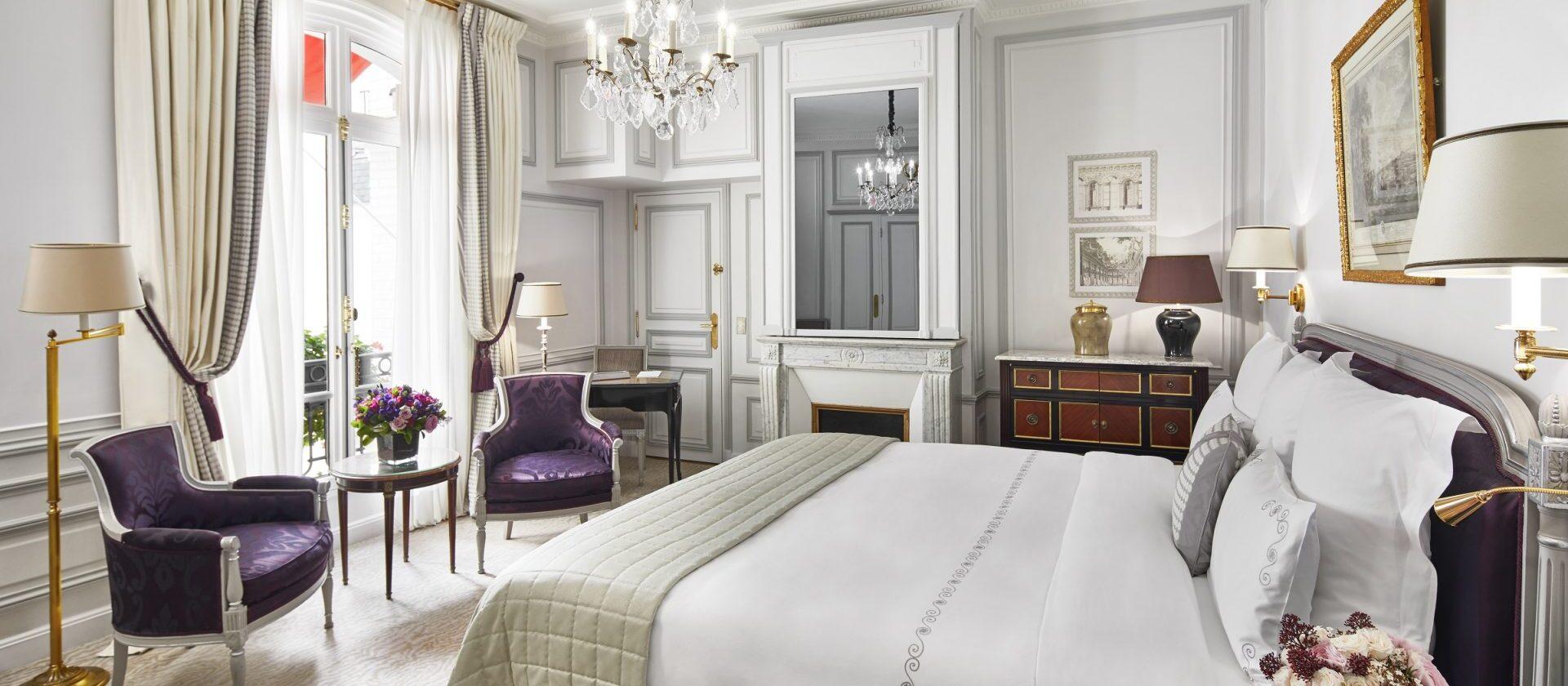 Superior guestroom paris plaza ath n e dorchester - Salon prestige organza ...