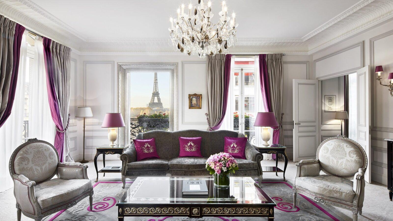 Eiffel Suite at Hôtel Plaza Athénée, Paris