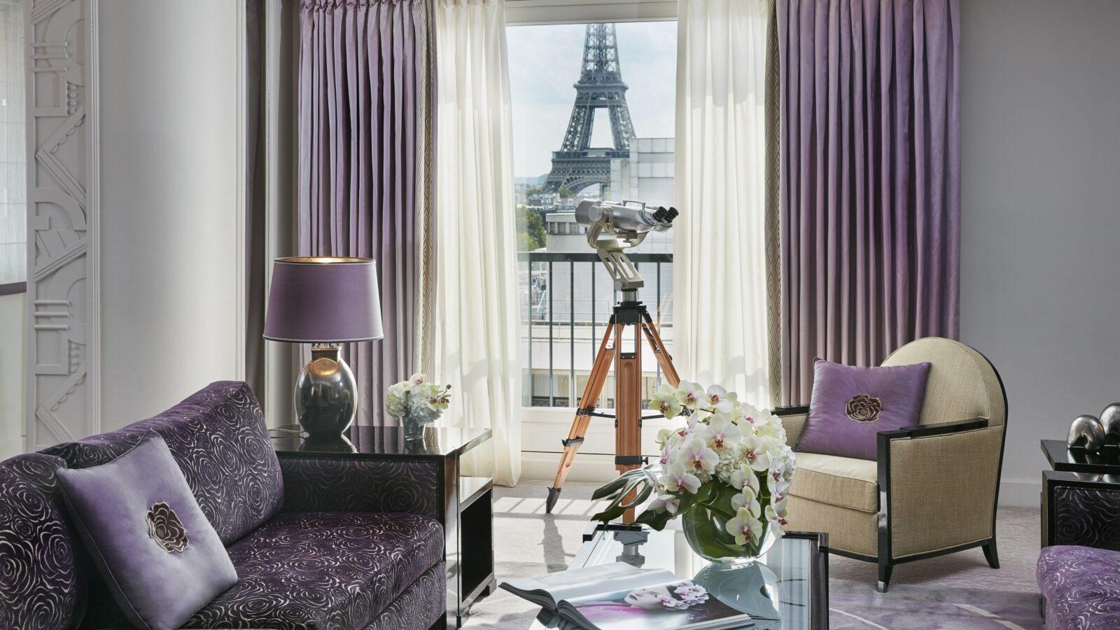 Eiffel Suite - Hôtel Plaza Athénée