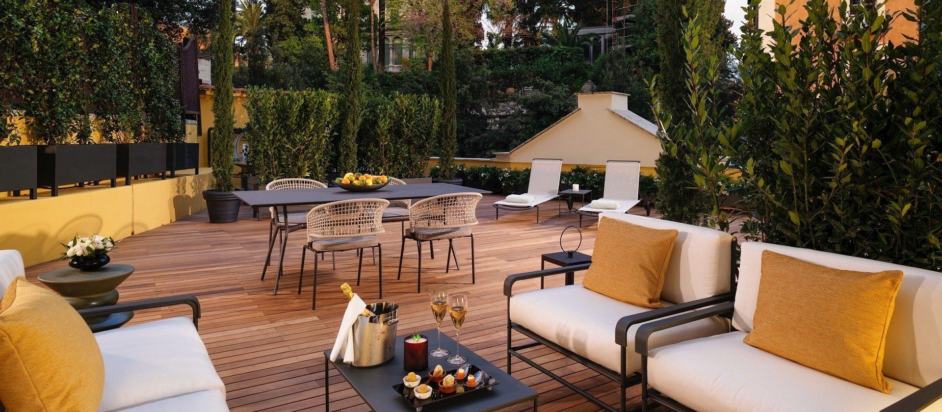 Aurora Terrace Suite At Hotel Eden Dorchester Collection