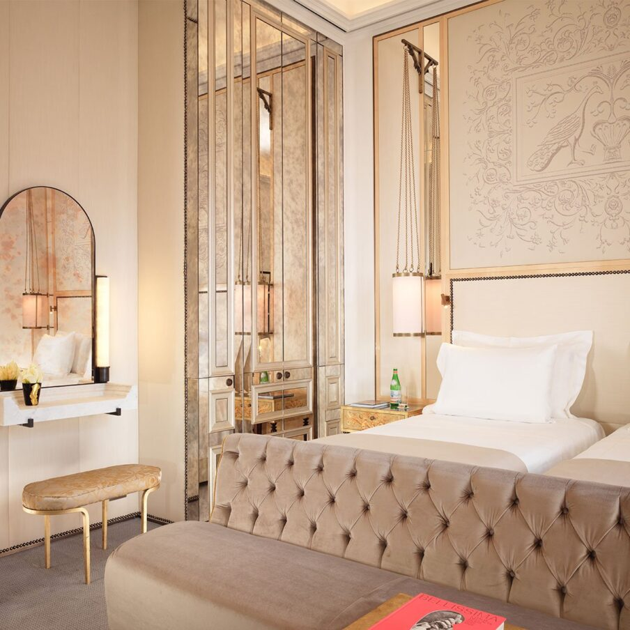 Rooms suites rome hotel eden dorchester collection for Design hotel eden