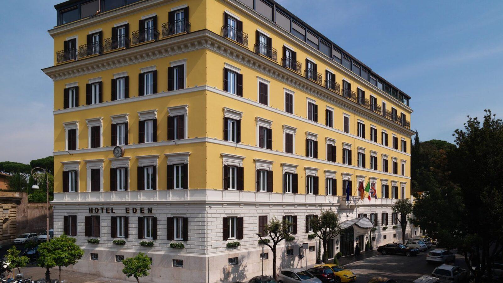 Sala ludovisi dorchester collection - Hotel eden en roma ...