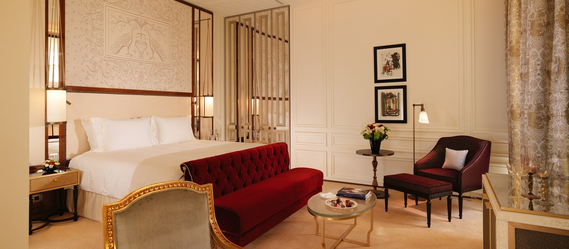 Junior Suite At Hotel Eden Dorchester Collection