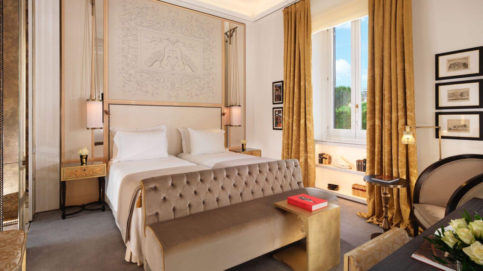Prestige Room Rome Hotel Eden Dorchester Collection