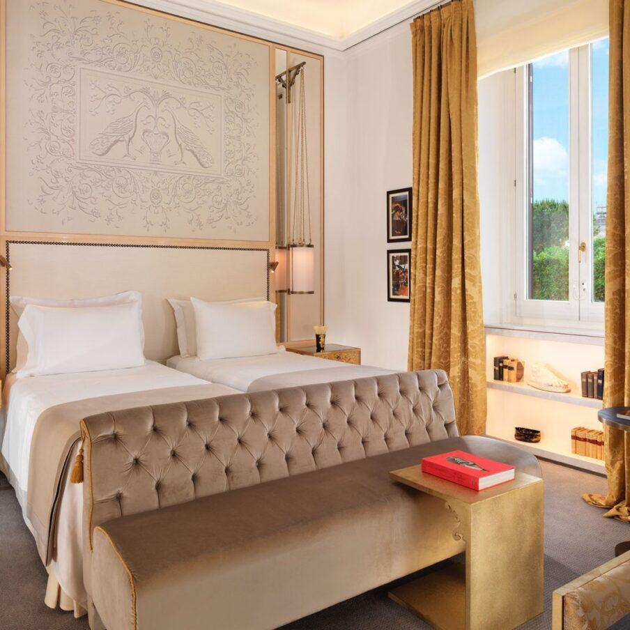 Twin prestige room at Hotel Eden